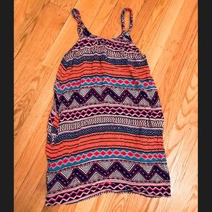 H&M Aztec Print Dress with Pockets Size 6